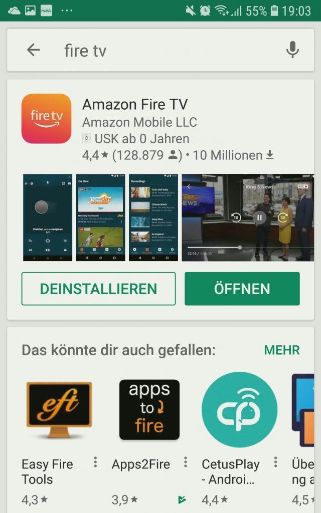 Fire Tv Stick Fernbedienung App